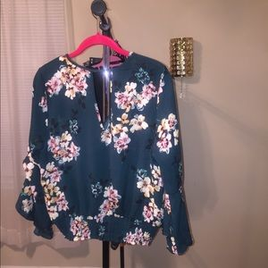 Beautiful Floral Top with bell sleeve